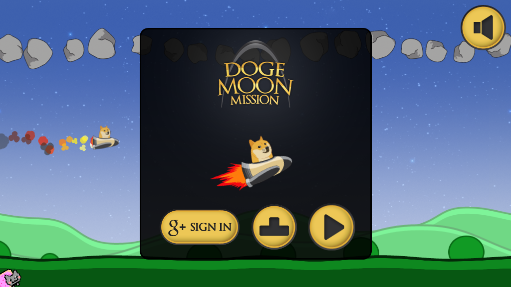 Doge Moon Mission- screenshot