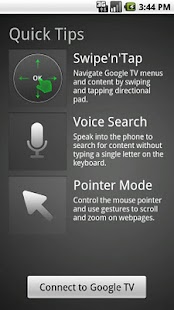 Google TV Remote - screenshot thumbnail