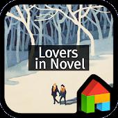 Lovers in a novel dodol theme