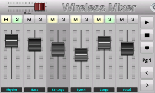 【免費音樂App】Wireless Mixer-APP點子