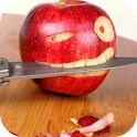 Apple and Knife Live Wallpaper icon
