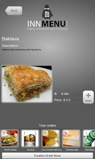 Innmenu free - restaurant menu - screenshot thumbnail