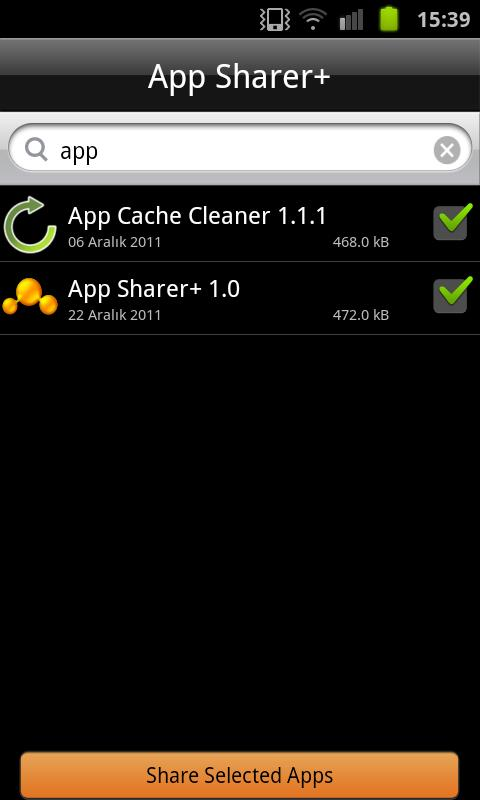 App Sharer+ - screenshot