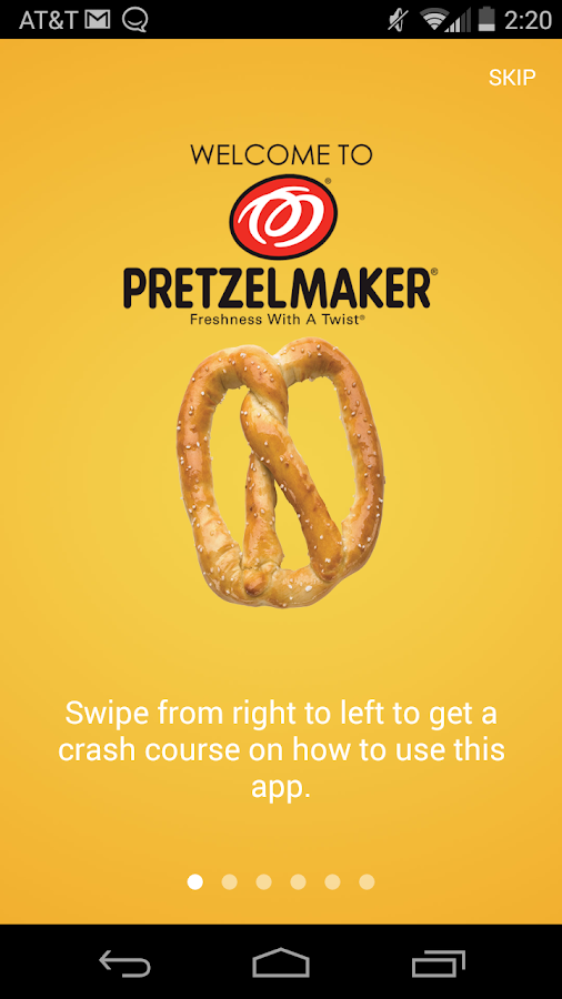 Pretzelmaker- screenshot