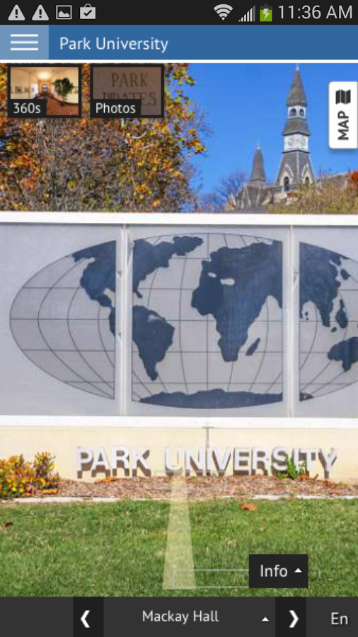 Park University- screenshot