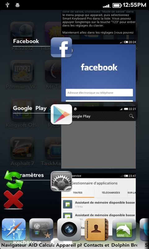 Home ShortCut for ICS TM - screenshot