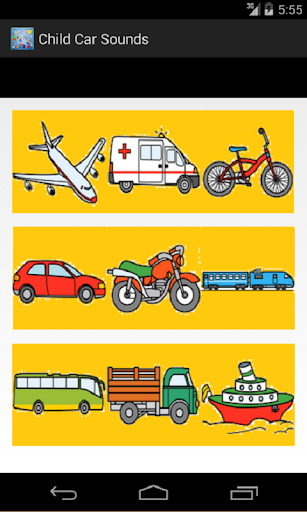 Vehicles Sounds for Children