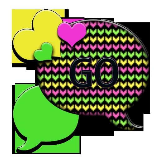 GO SMS THEME/PopcicleHearts1 LOGO-APP點子