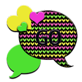 GO SMS THEME/PopcicleHearts1