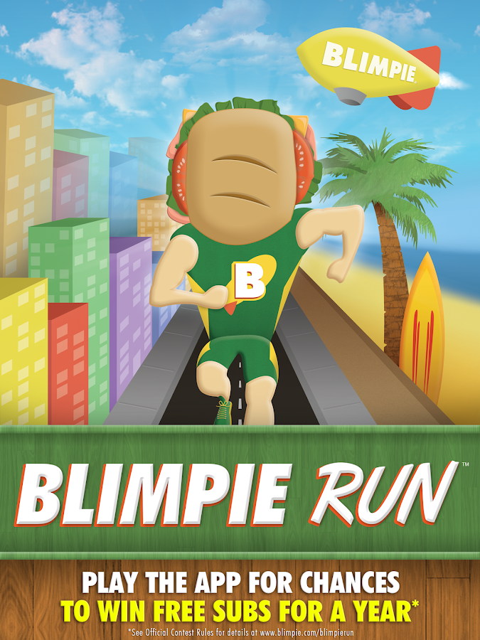 Blimpie Run- screenshot