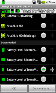 BN Pro Battery Level Icons- screenshot thumbnail