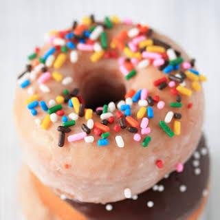 Homemade Doughnuts.
