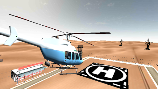 直升机三维仿真