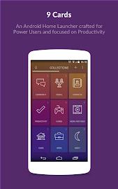 9 Cards Home Launcher Screenshot 1