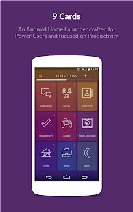 9 Cards Home Launcher 1.1.4 APK
