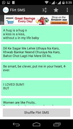 Unauffällig flirten per sms