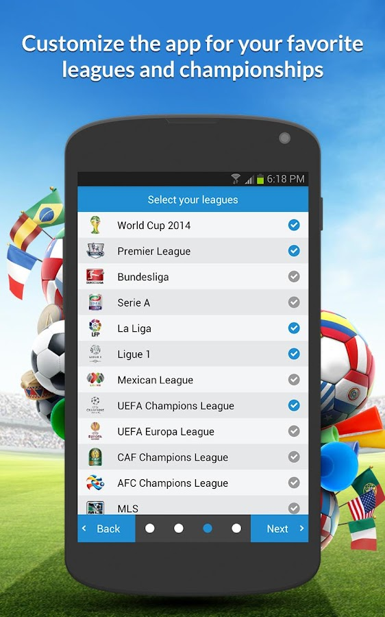 inFootball - screenshot