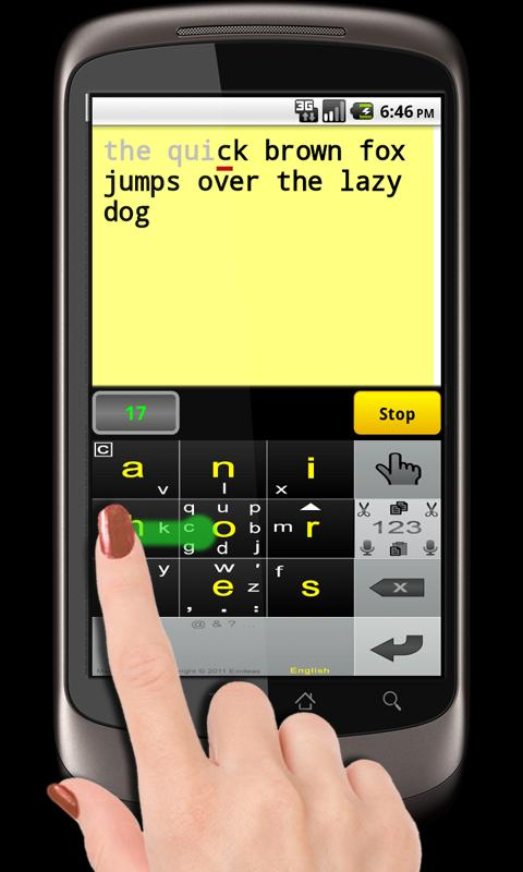 MessagEase Game - screenshot