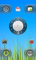 Screenshot of WidgetLocker Lockscreen