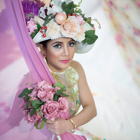 The Bridal by Jimmy Cuadra - People Portraits of Women