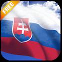3D Slovakia Flag LWP icon