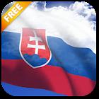 3D Slovakia Flag Live Wallpaper icon