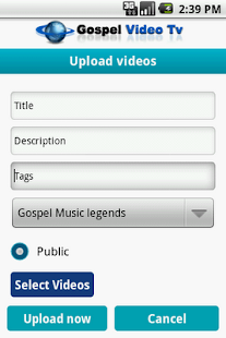 Gospel Video Tv - screenshot thumbnail