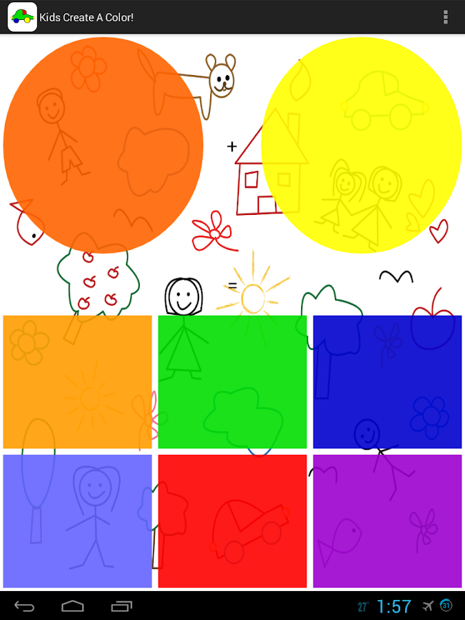 Kids Create A Color! Free!- screenshot