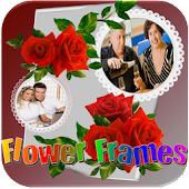 Flower Photo Frames Selfie