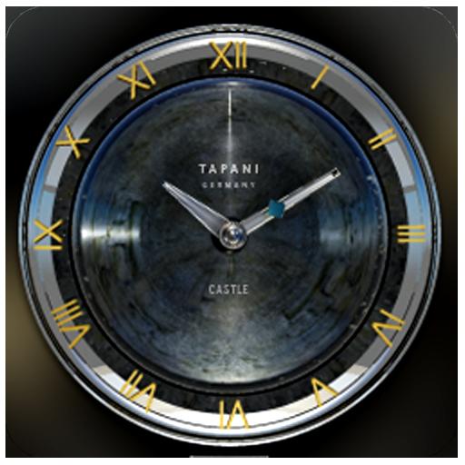 CASTLE Designer Clock Widget