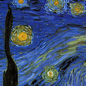 Starry Night SQLivewallpaper