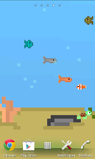 8-bit Aquarium -Live Wallpaper - screenshot thumbnail
