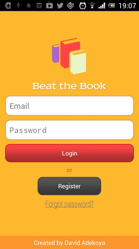Beat the Book- screenshot