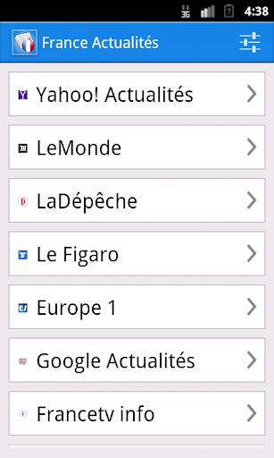 【免費新聞App】France Actualités-APP點子