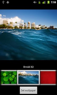 Verizon DROID Wallpapers - screenshot thumbnail