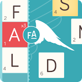 Word puzzle game FallingAngels