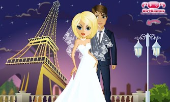 Screenshot of Dress Up! My Wedding
