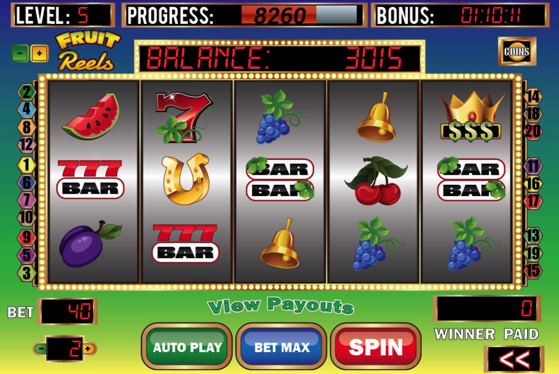 avet 5 3 reels slot machines