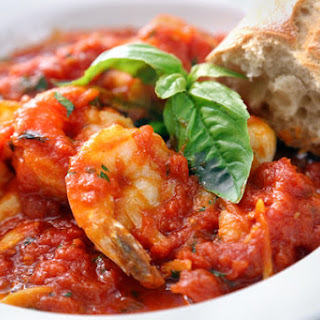 Shrimp alla Marinara