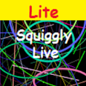 Squiggly Live Wallpaper Lite icon