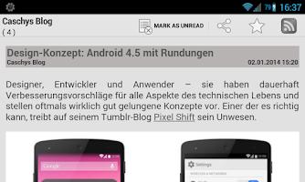 Screenshot of TTRSS-Reader