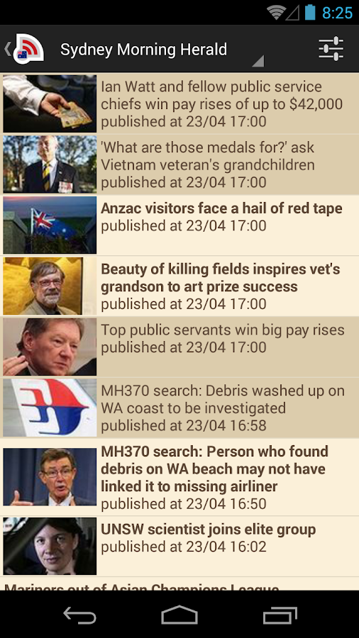 Australia News- screenshot