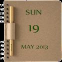 NoteBook Calendar Widget icon