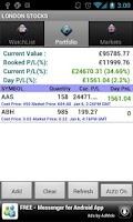 Screenshot of New Zealand Stocks