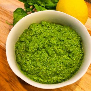Skinny Pesto Sauce.