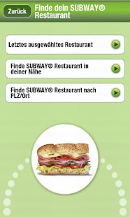 SUBWAY® SUBCARD™ Deutschland - screenshot thumbnail