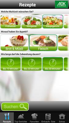AOKgenießen - screenshot