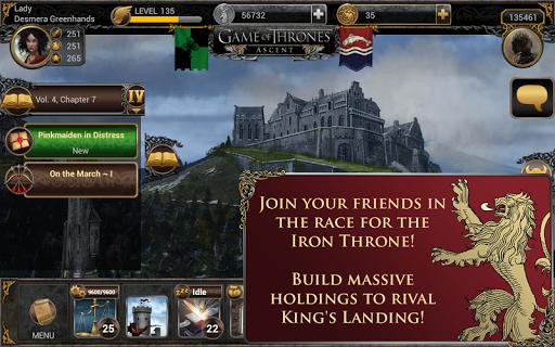 Игра Game of Thrones Ascent для планшетов на Android