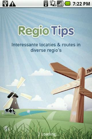 RegioTips - screenshot