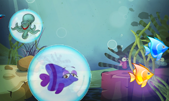 Screenshot of Fishes for toddlers FREE